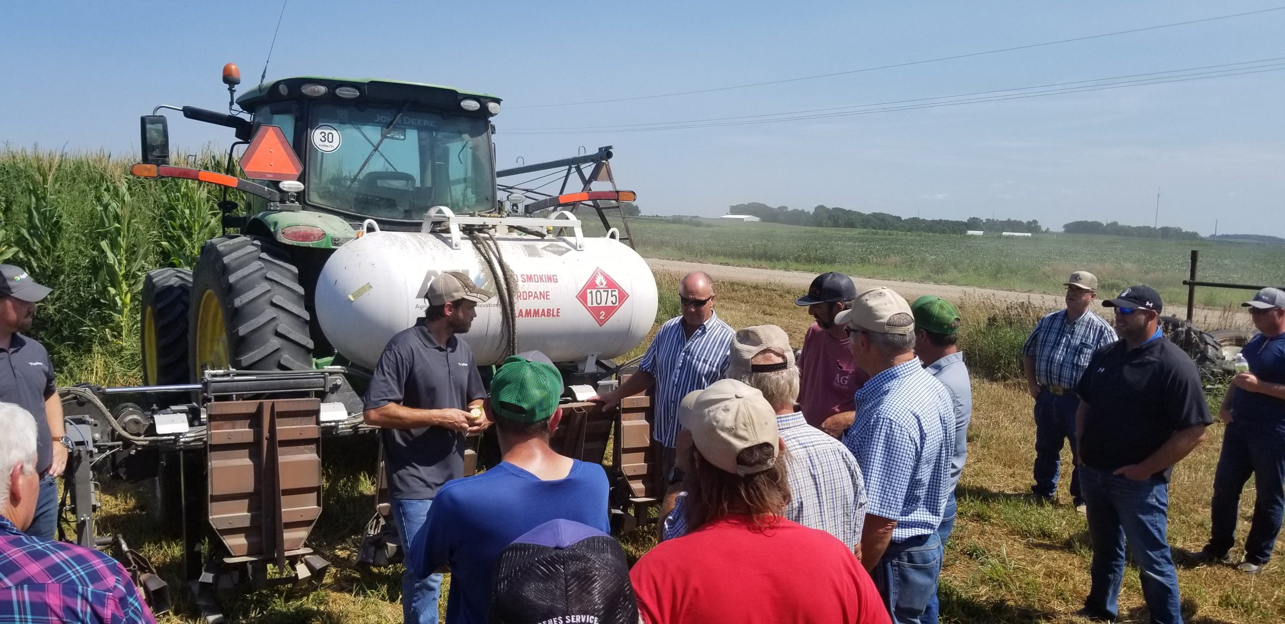 Clinic and Field Tour Demonstrates Organic Profit Opportunity